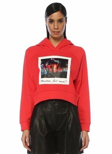 Academia Sweatshirt Kırmızı
